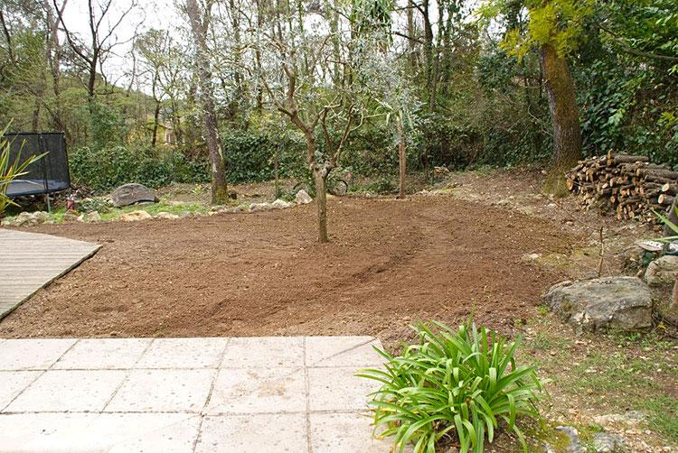 Création jardins CFC paysages-AVANT